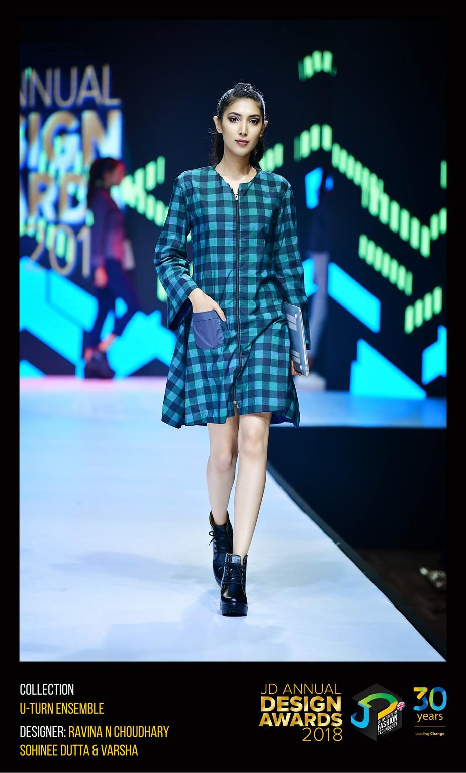 The U-turn ensemble – Change – JD Annual Design Awards 2018 | Designer: Sohinee, Ravina and Varsha | Photography : Jerin Nath (@jerin_nath) the u-turn ensemble - U TURN ENSEMBLE  - The U-turn ensemble – Change – JD Annual Design Awards 2018