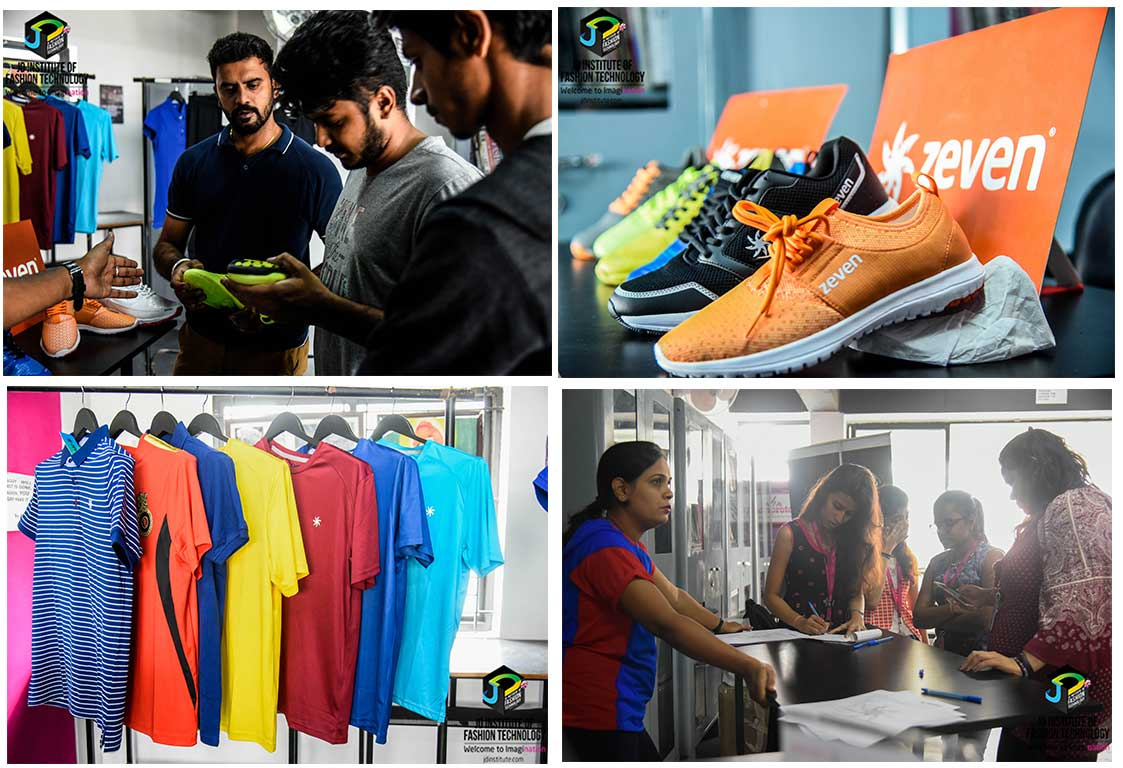 zeven Fashion Department Students in Conversation with Zeven- an Indian Sportswear brand Zeven 2