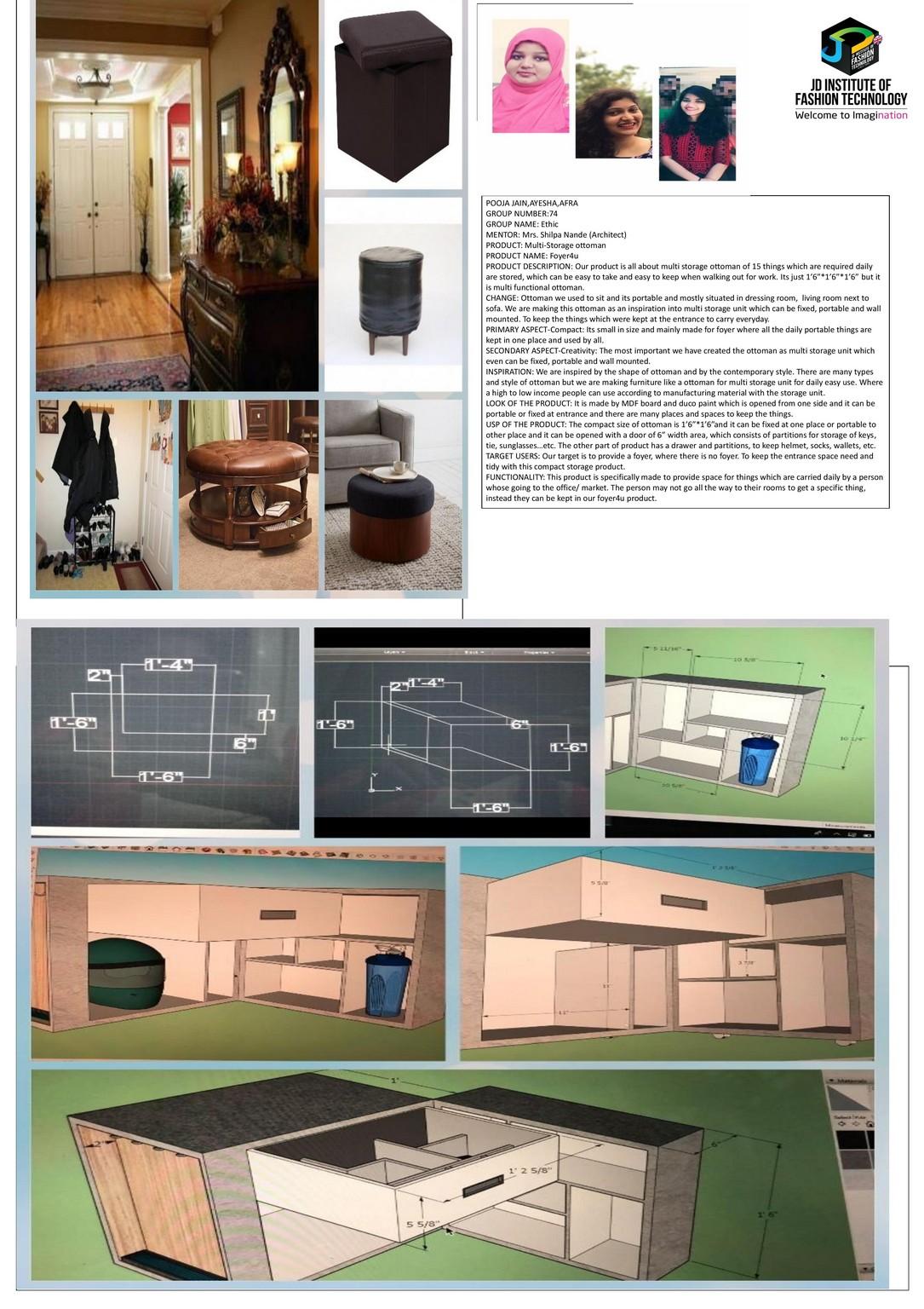 Foyer4u – CHANGE – JD Annual Design Awards 2018   Designer: pooja jain, Ayesha Ahmedulla Khan, Afra Tabassum Touheed   Photography : Jerin Nath (@jerin_nath) foyer4u Foyer4u – CHANGE – JD Annual Design Awards 2018 foyer4u1