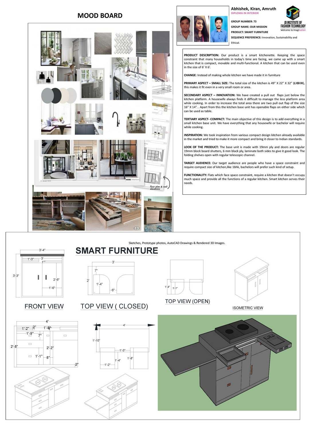 Smart Furniture – Change – JD Annual Design Awards 2018 | Designer: Abhishek Anurag, Amruth Nayaks and Kiran Patel | Photography : Jerin Nath (@jerin_nath) smart furniture Smart Furniture – Change – JD Annual Design Awards 2018 smart furniture1