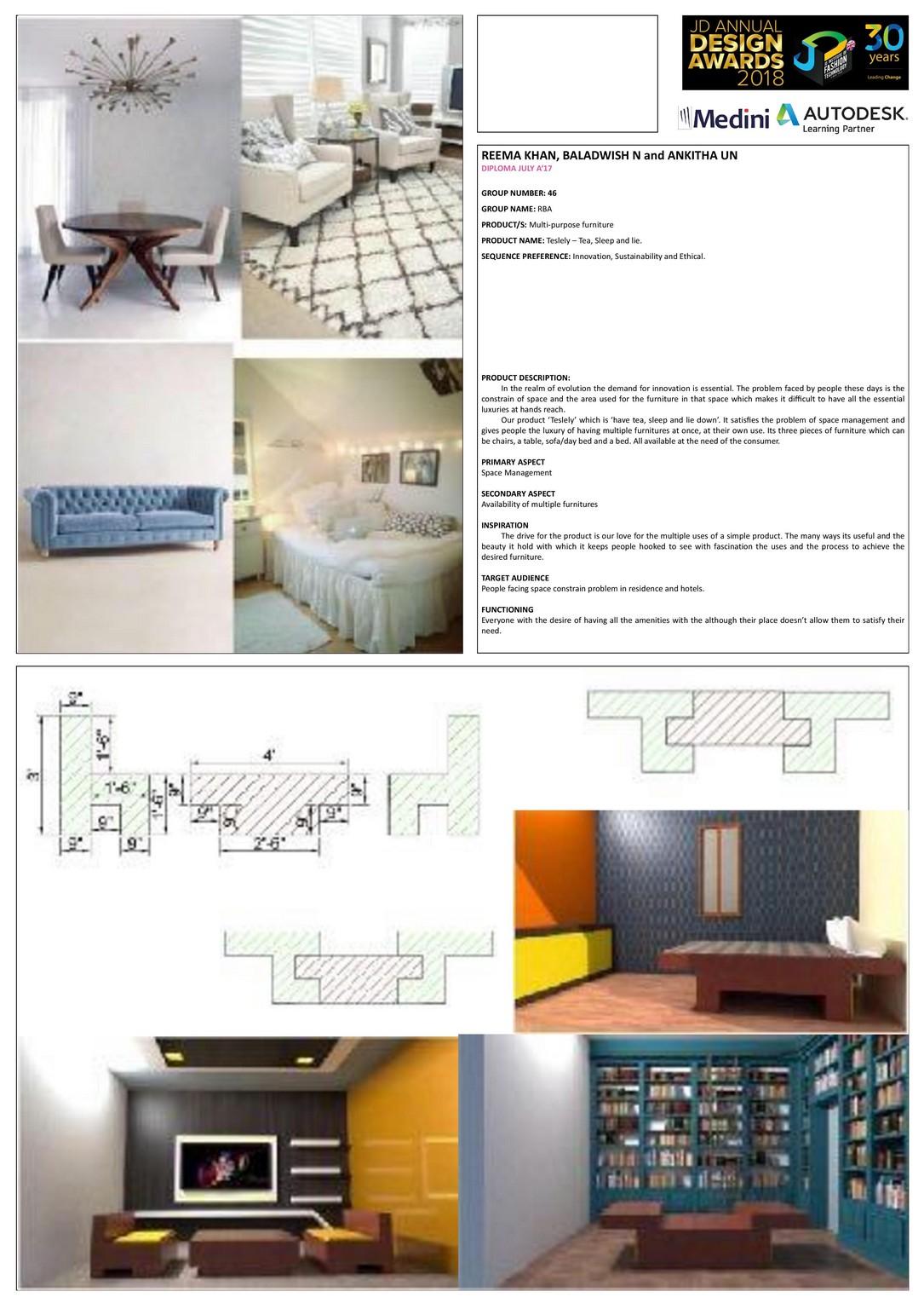 Tesleley – Change – JD Annual Design Awards 2018   Designer: Reema Khan, Baladwish.N, Ankitha.U.N   Photography : Jerin Nath (@jerin_nath) tesleley Tesleley – Change – JD Annual Design Awards 2018 tesleley1