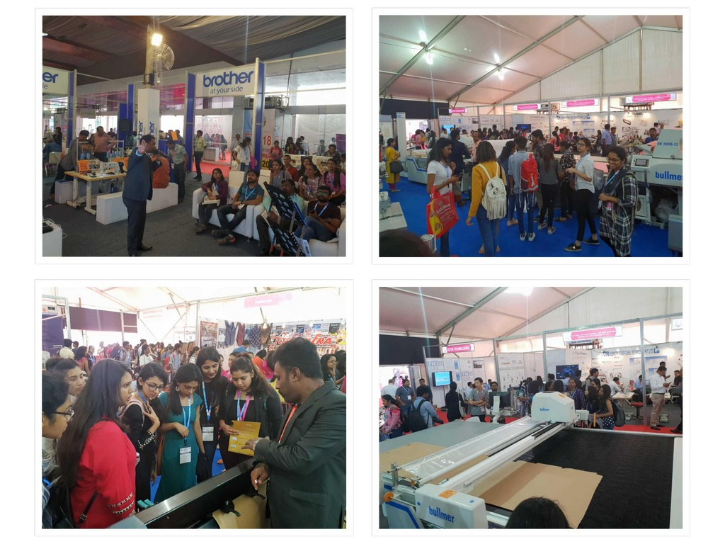 Visit to Garment Technology Expo 2018 visit to garment technology expo 2018 - Garment Technology Expo 2018 23 - Visit to Garment Technology Expo 2018 | JD Institute Bangalore