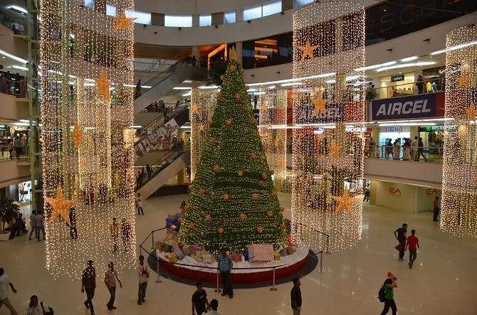 bangalore is lit with christmas Bangalore is lit with Christmas Christmas 1