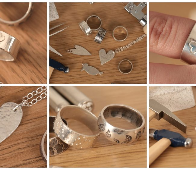 Making Jewelry At Home Using Simple Techniques Make Silver Jewelry at Home 650x564