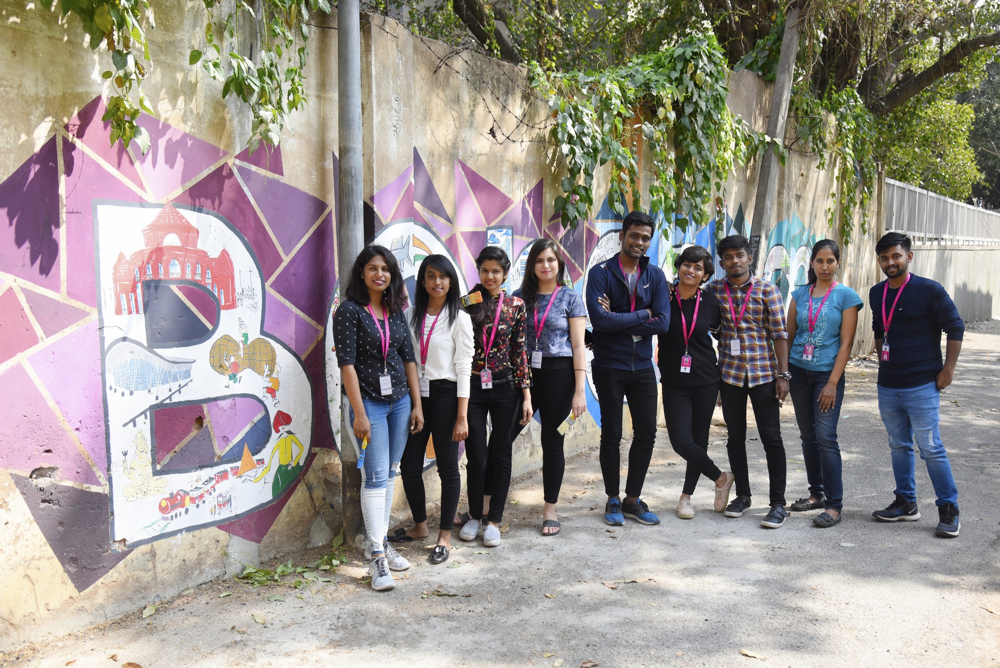 namma bengaluru Namma Bengaluru – Wall art by students of JD Institute Namma Bengaluru 6