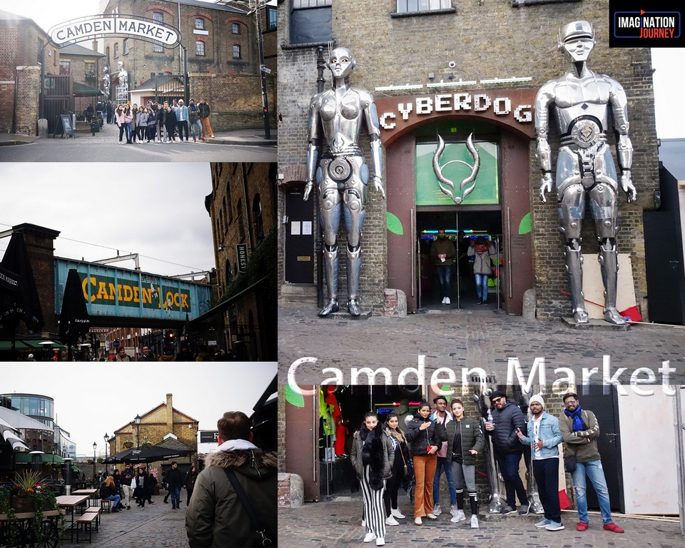 - Camden Market - Maximising the study abroad experience- JD Institute x London College of Fashion