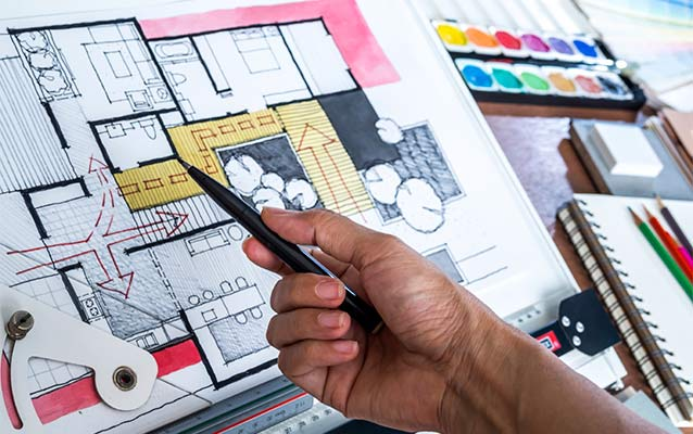 interior design degree in bangalore engineering
