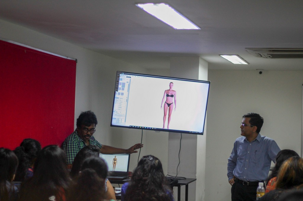 session on Digital Pattern Making with Optitex  fashion department - Optitex 4 - A session on Digital Pattern Making with Optitex | Fashion Department
