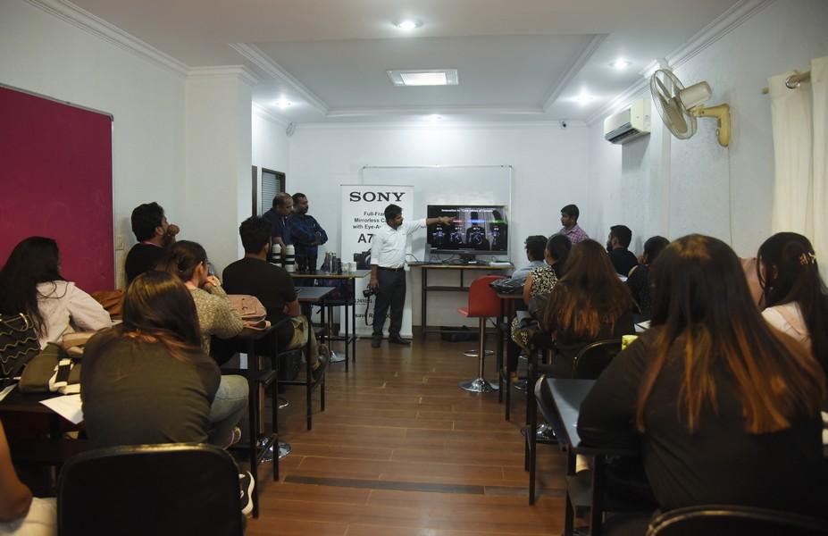 Sony workshop for Photography sony workshop for photography Sony workshop for Photography and Fashion Communication Students Sony workshop 2