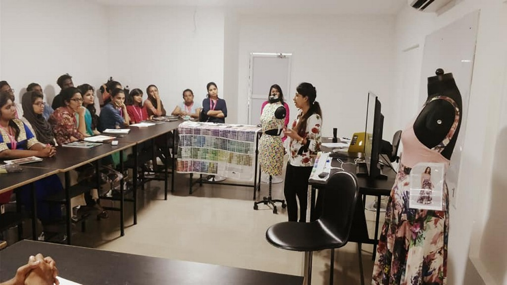 Quancious Workshop At Jd Institute Of Fashion Technology Kochi