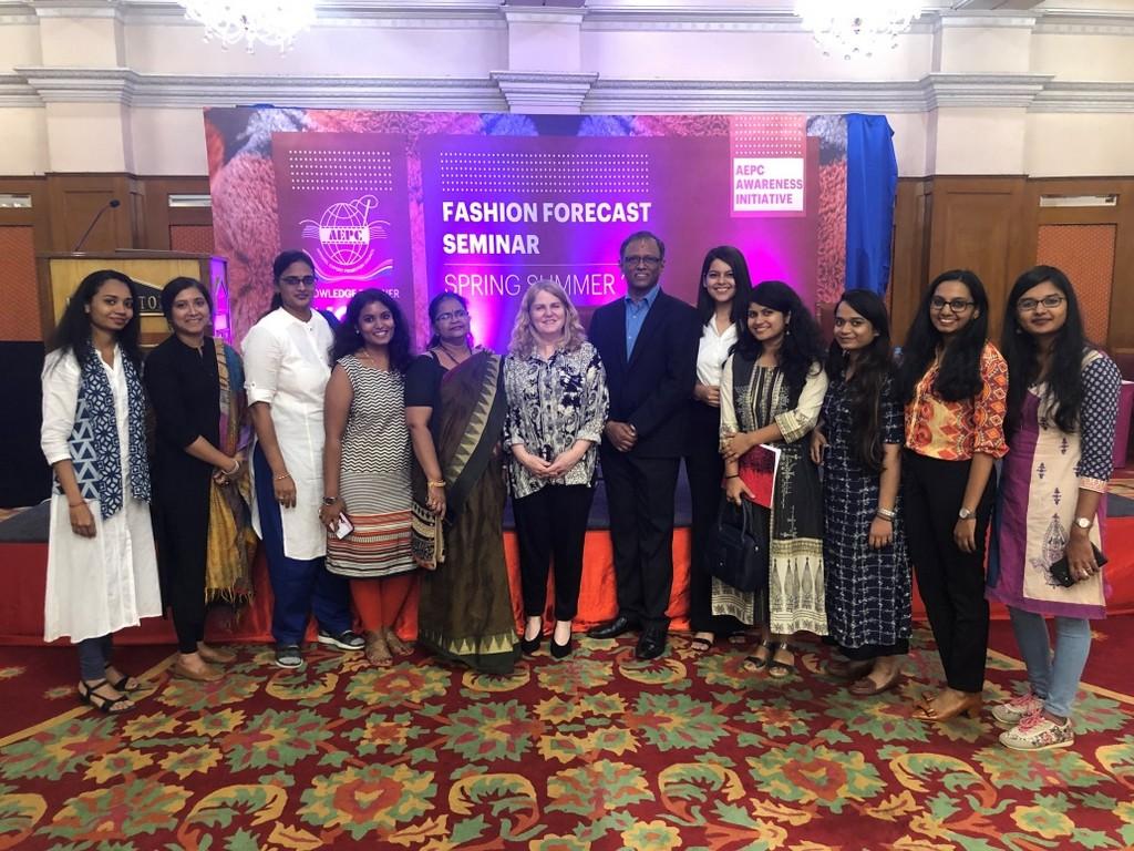 jd institute at fashion forecast seminar organized by aepc - wgsn - JD Institute at Fashion Forecast Seminar organized by AEPC