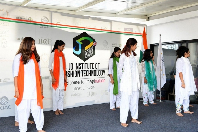 independence day Celebration of Freedom at JD Institute | Independence Day 73rd Independence day Celebrations At Jd bangalore 11