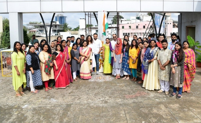independence day Celebration of Freedom at JD Institute | Independence Day 73rd Independence day Celebrations At Jd bangalore 19