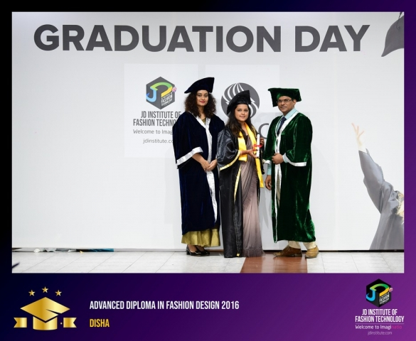 JD Institute Holds Graduation Ceremony for its Diploma and Post Graduate Students Advance Diploma In Fashion Design 10