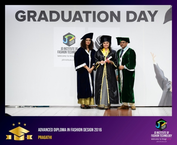 JD Institute Holds Graduation Ceremony for its Diploma and Post Graduate Students Advance Diploma In Fashion Design 11