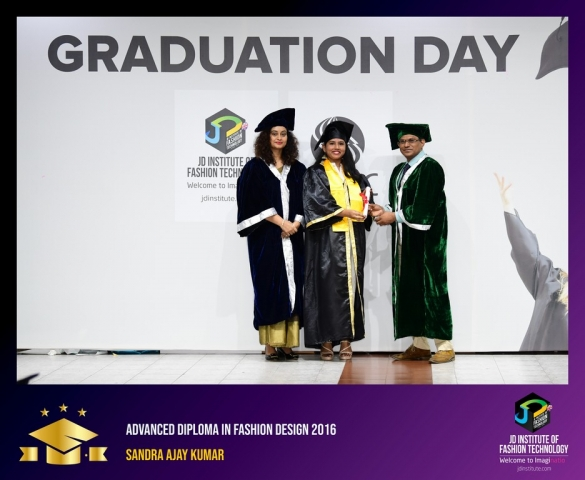 JD Institute Holds Graduation Ceremony for its Diploma and Post Graduate Students Advance Diploma In Fashion Design 12