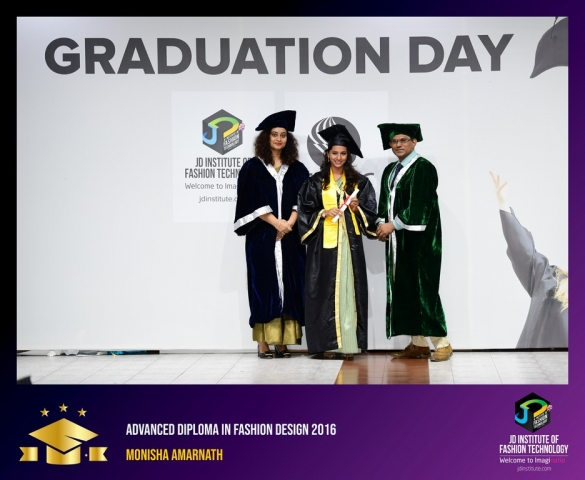 JD Institute Holds Graduation Ceremony for its Diploma and Post Graduate Students Advance Diploma In Fashion Design 3