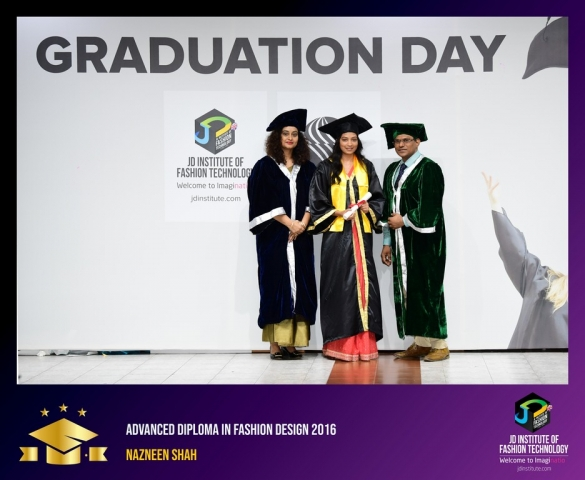JD Institute Holds Graduation Ceremony for its Diploma and Post Graduate Students Advance Diploma In Fashion Design 4