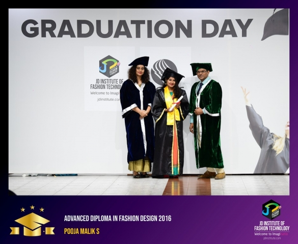 JD Institute Holds Graduation Ceremony for its Diploma and Post Graduate Students Advance Diploma In Fashion Design 6