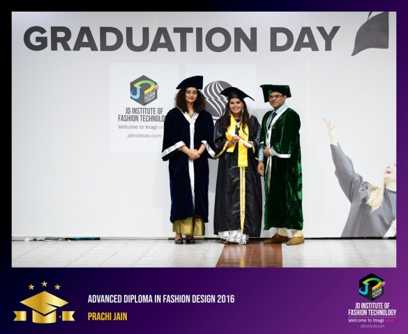 JD Institute Holds Graduation Ceremony for its Diploma and Post Graduate Students Advance Diploma In Fashion Design 7