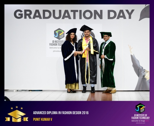 JD Institute Holds Graduation Ceremony for its Diploma and Post Graduate Students Advance Diploma In Fashion Design 8
