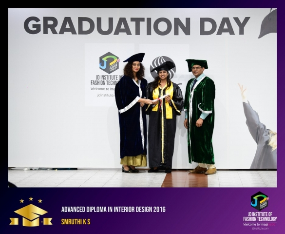 JD Institute Holds Graduation Ceremony for its Diploma and Post Graduate Students Advance Diploma In Interior Design 10
