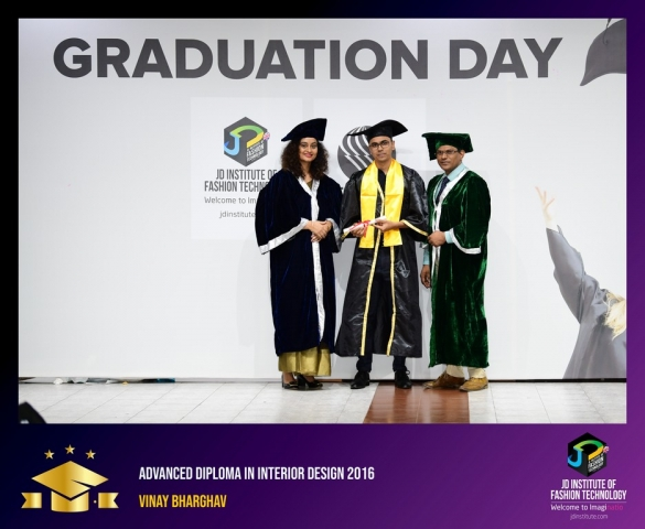 JD Institute Holds Graduation Ceremony for its Diploma and Post Graduate Students Advance Diploma In Interior Design 12