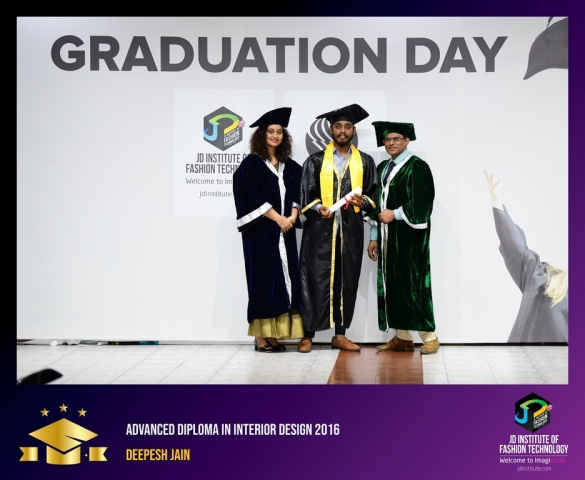 JD Institute Holds Graduation Ceremony for its Diploma and Post Graduate Students Advance Diploma In Interior Design 13