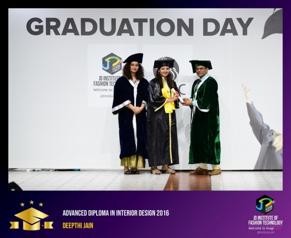 JD Institute Holds Graduation Ceremony for its Diploma and Post Graduate Students Advance Diploma In Interior Design 14