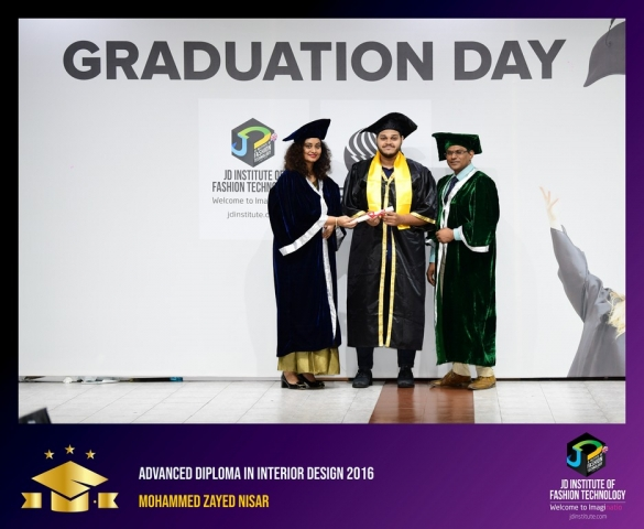 JD Institute Holds Graduation Ceremony for its Diploma and Post Graduate Students Advance Diploma In Interior Design 15