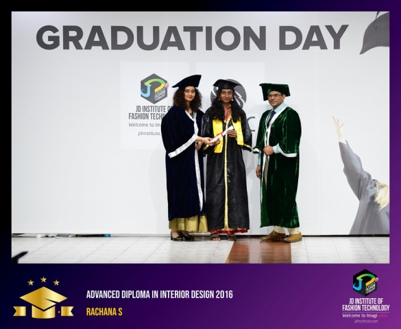 JD Institute Holds Graduation Ceremony for its Diploma and Post Graduate Students Advance Diploma In Interior Design 16