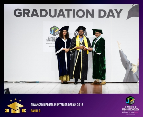 JD Institute Holds Graduation Ceremony for its Diploma and Post Graduate Students Advance Diploma In Interior Design 17