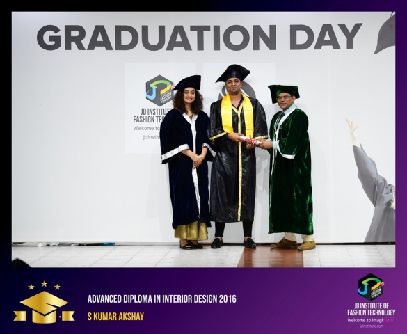 JD Institute Holds Graduation Ceremony for its Diploma and Post Graduate Students Advance Diploma In Interior Design 18