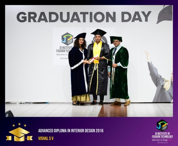 JD Institute Holds Graduation Ceremony for its Diploma and Post Graduate Students Advance Diploma In Interior Design 19