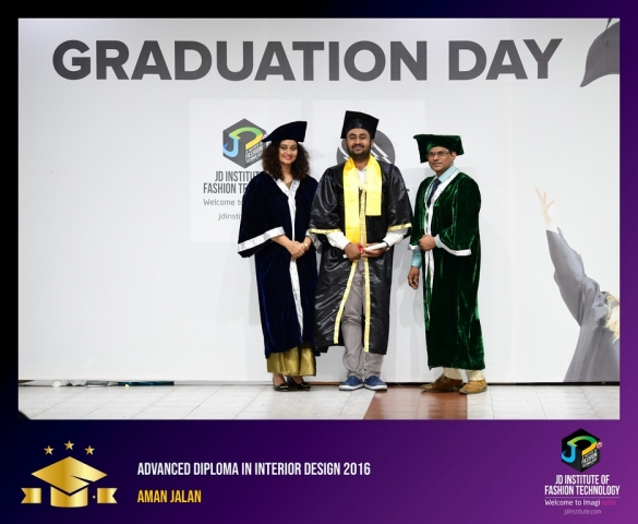 JD Institute Holds Graduation Ceremony for its Diploma and Post Graduate Students Advance Diploma In Interior Design 2
