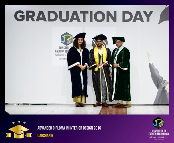 JD Institute Holds Graduation Ceremony for its Diploma and Post Graduate Students Advance Diploma In Interior Design 3