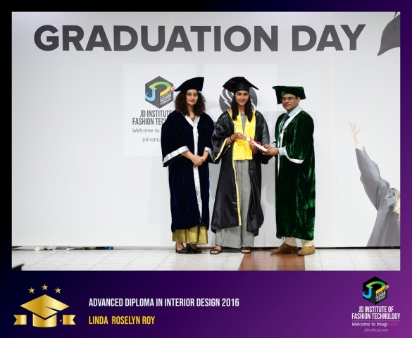 JD Institute Holds Graduation Ceremony for its Diploma and Post Graduate Students Advance Diploma In Interior Design 4