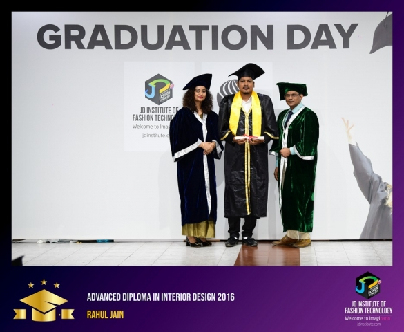 JD Institute Holds Graduation Ceremony for its Diploma and Post Graduate Students Advance Diploma In Interior Design 5