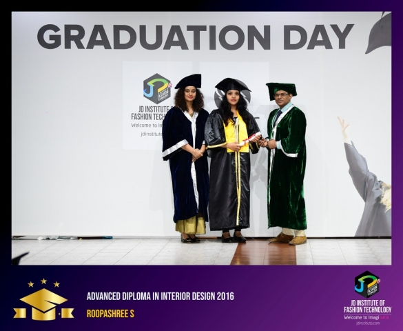 JD Institute Holds Graduation Ceremony for its Diploma and Post Graduate Students Advance Diploma In Interior Design 6