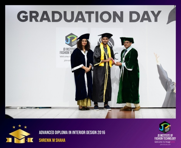 JD Institute Holds Graduation Ceremony for its Diploma and Post Graduate Students Advance Diploma In Interior Design 9