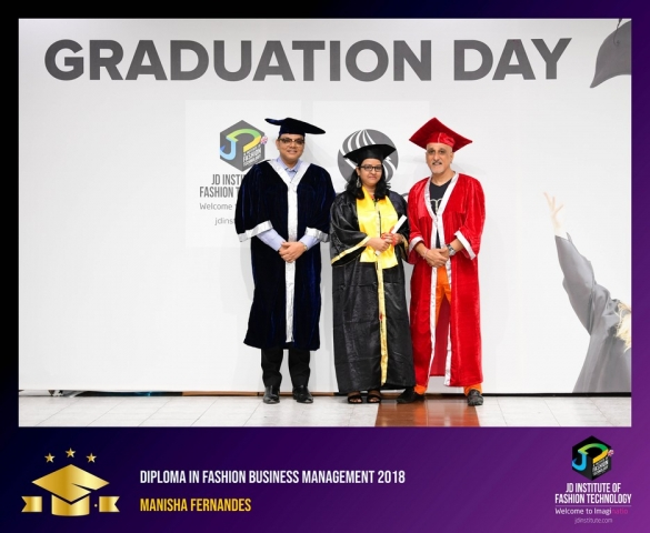 JD Institute Holds Graduation Ceremony for its Diploma and Post Graduate Students Diploma In Fashion Business Management 3