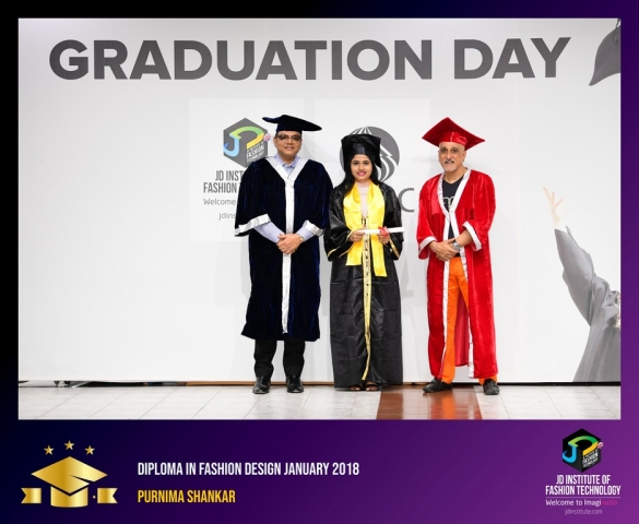 JD Institute Holds Graduation Ceremony for its Diploma and Post Graduate Students Diploma In Fashion Design 11