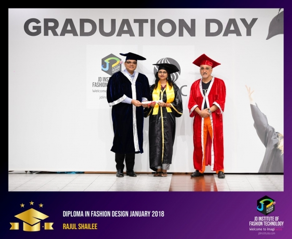 JD Institute Holds Graduation Ceremony for its Diploma and Post Graduate Students Diploma In Fashion Design 12