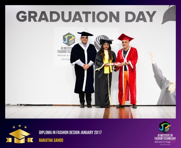 JD Institute Holds Graduation Ceremony for its Diploma and Post Graduate Students Diploma In Fashion Design 13