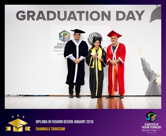 JD Institute Holds Graduation Ceremony for its Diploma and Post Graduate Students Diploma In Fashion Design 22