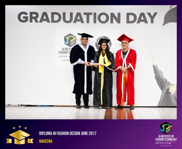 JD Institute Holds Graduation Ceremony for its Diploma and Post Graduate Students Diploma In Fashion Design 25