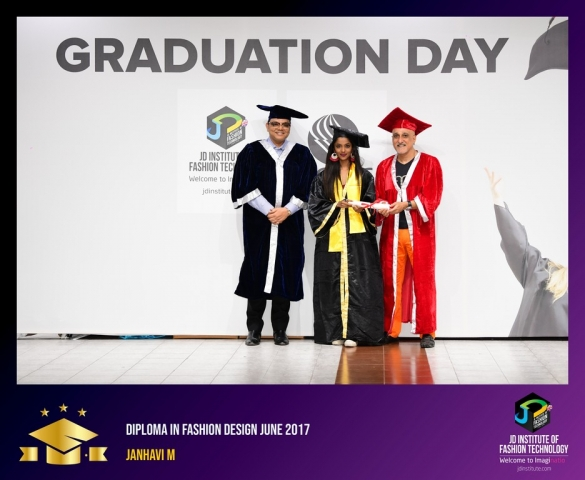 JD Institute Holds Graduation Ceremony for its Diploma and Post Graduate Students Diploma In Fashion Design 26