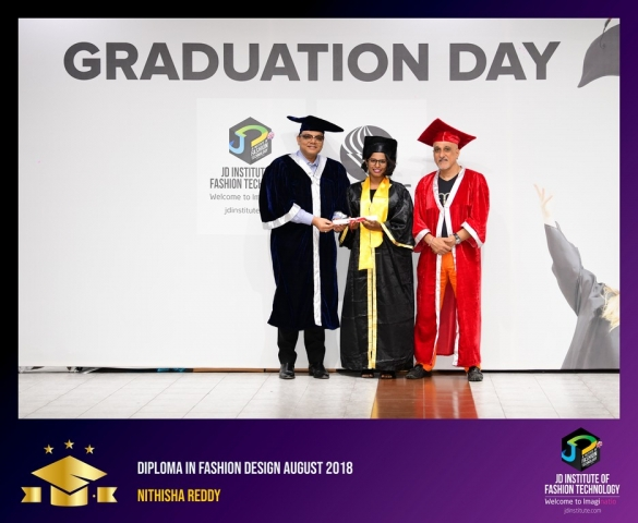 JD Institute Holds Graduation Ceremony for its Diploma and Post Graduate Students Diploma In Fashion Design 27