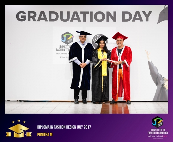 JD Institute Holds Graduation Ceremony for its Diploma and Post Graduate Students Diploma In Fashion Design 28