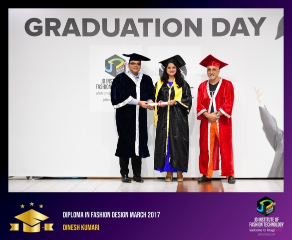 JD Institute Holds Graduation Ceremony for its Diploma and Post Graduate Students Diploma In Fashion Design 6